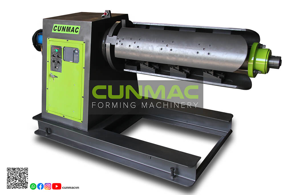 auto uncoiler, uncoiler machine, decoiler machine