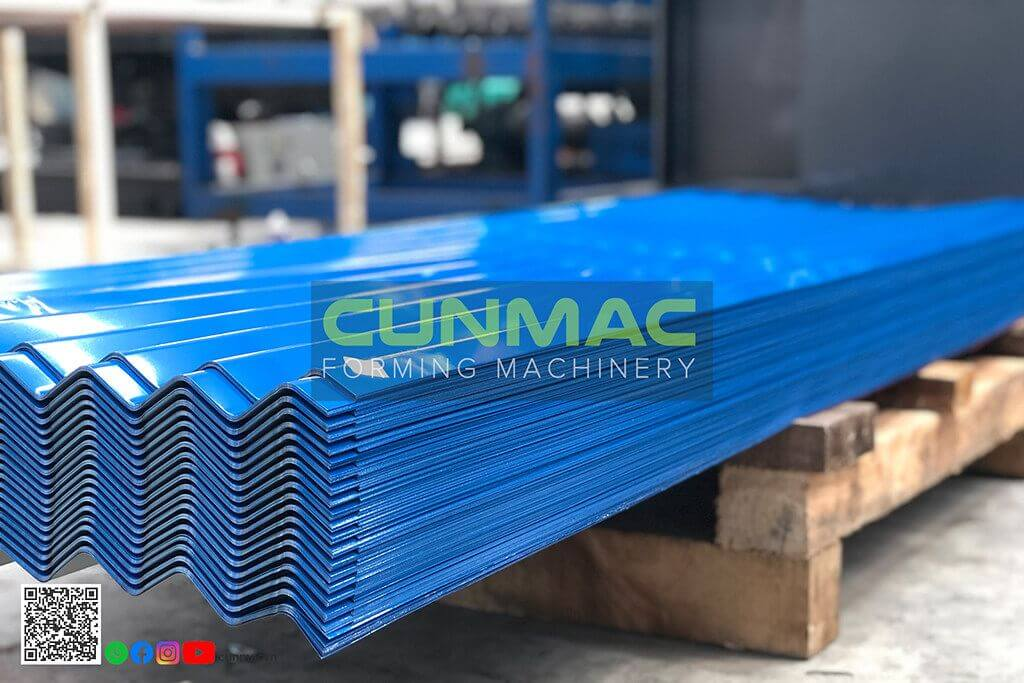 corrugated roofing, corrugated profile, corrugated machine, waves machine, waves profile