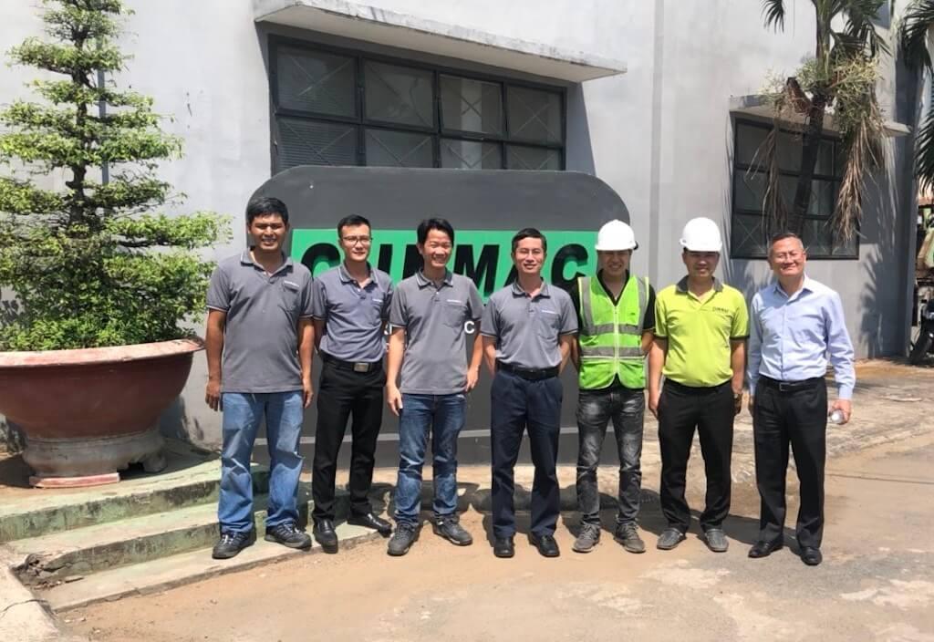 CUNMAC customer roofing machinery