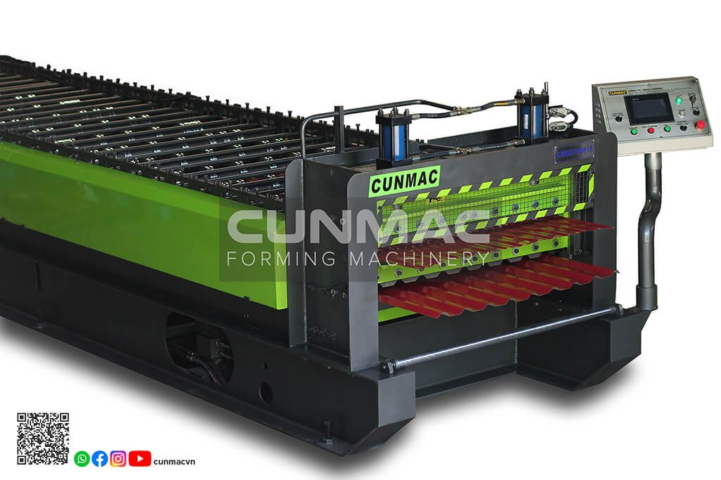 Double layer roofing roll forming machine vietnam