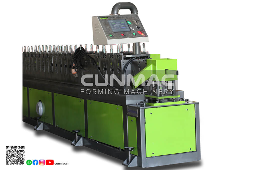hollow machine, furring machine, 2x4 profile, 4x4 profile, 16x32 profile, hollow ceiling machine