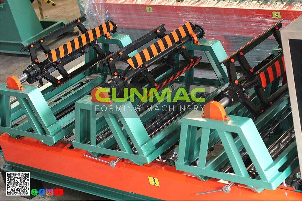 portable roofing, simple roofing, portable machine