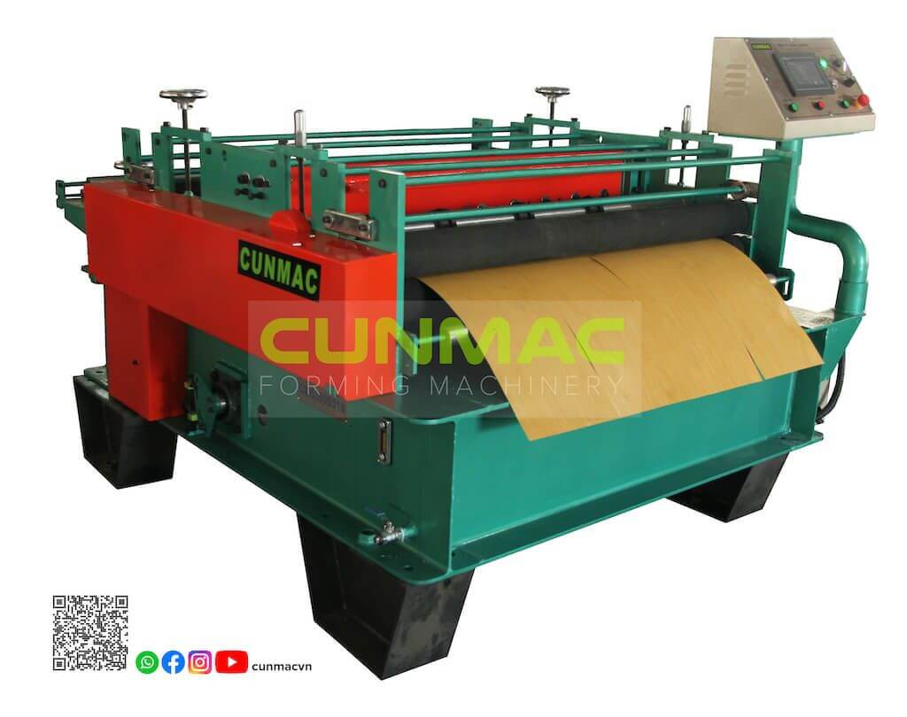 slitting and cutting to length machine