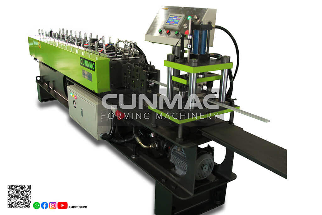 Drywall channel roll forming machine