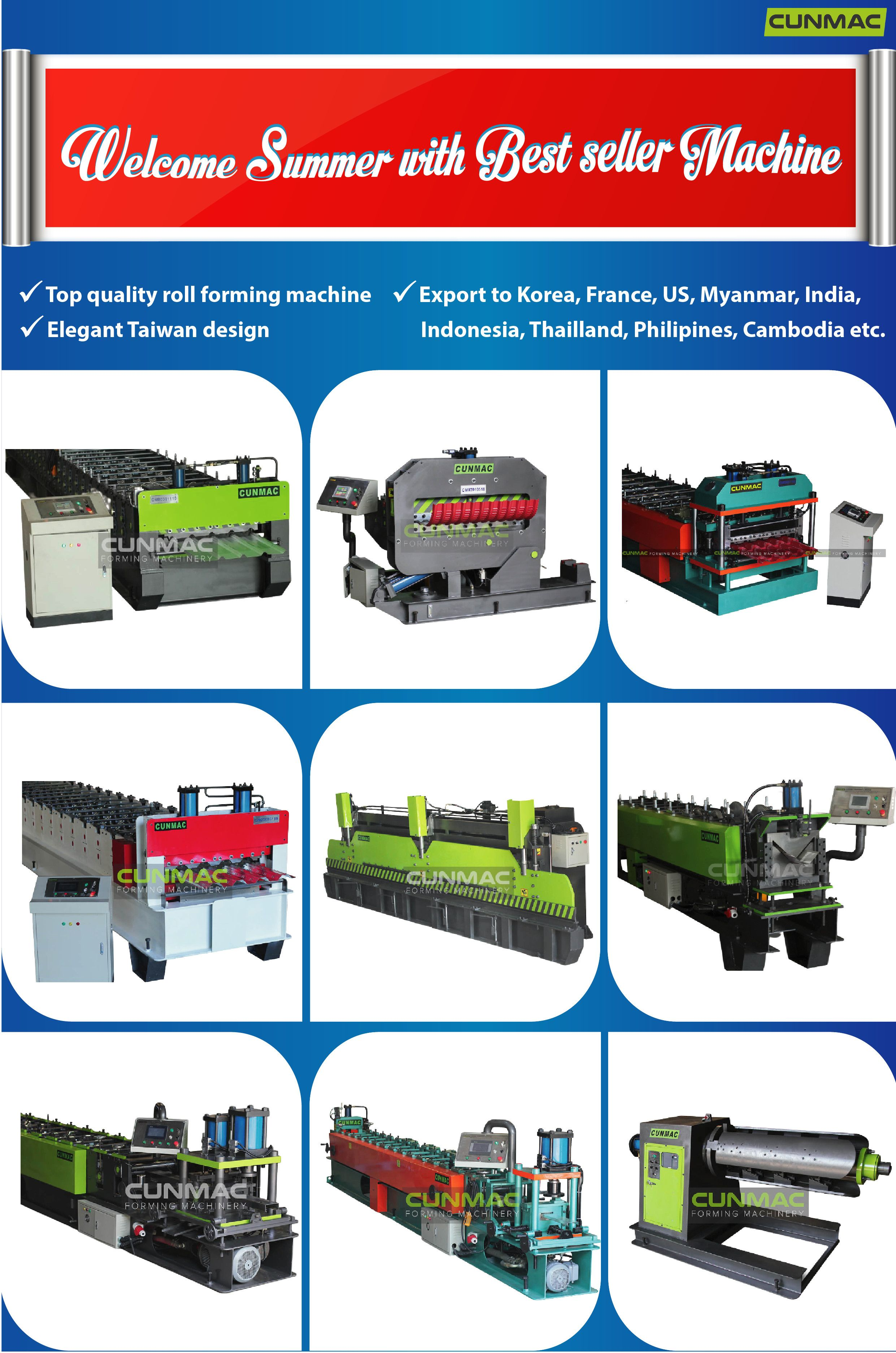 top quality Roll forming machine