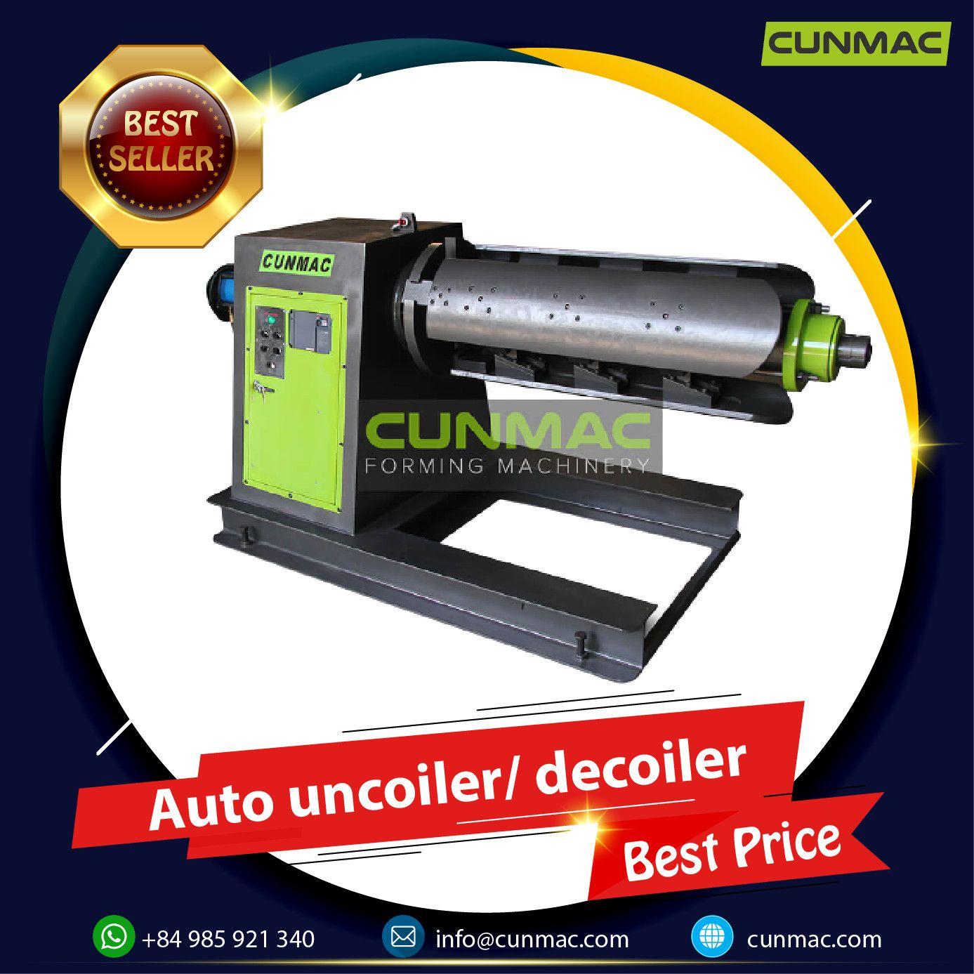 Auto uncoiler/ decoiler