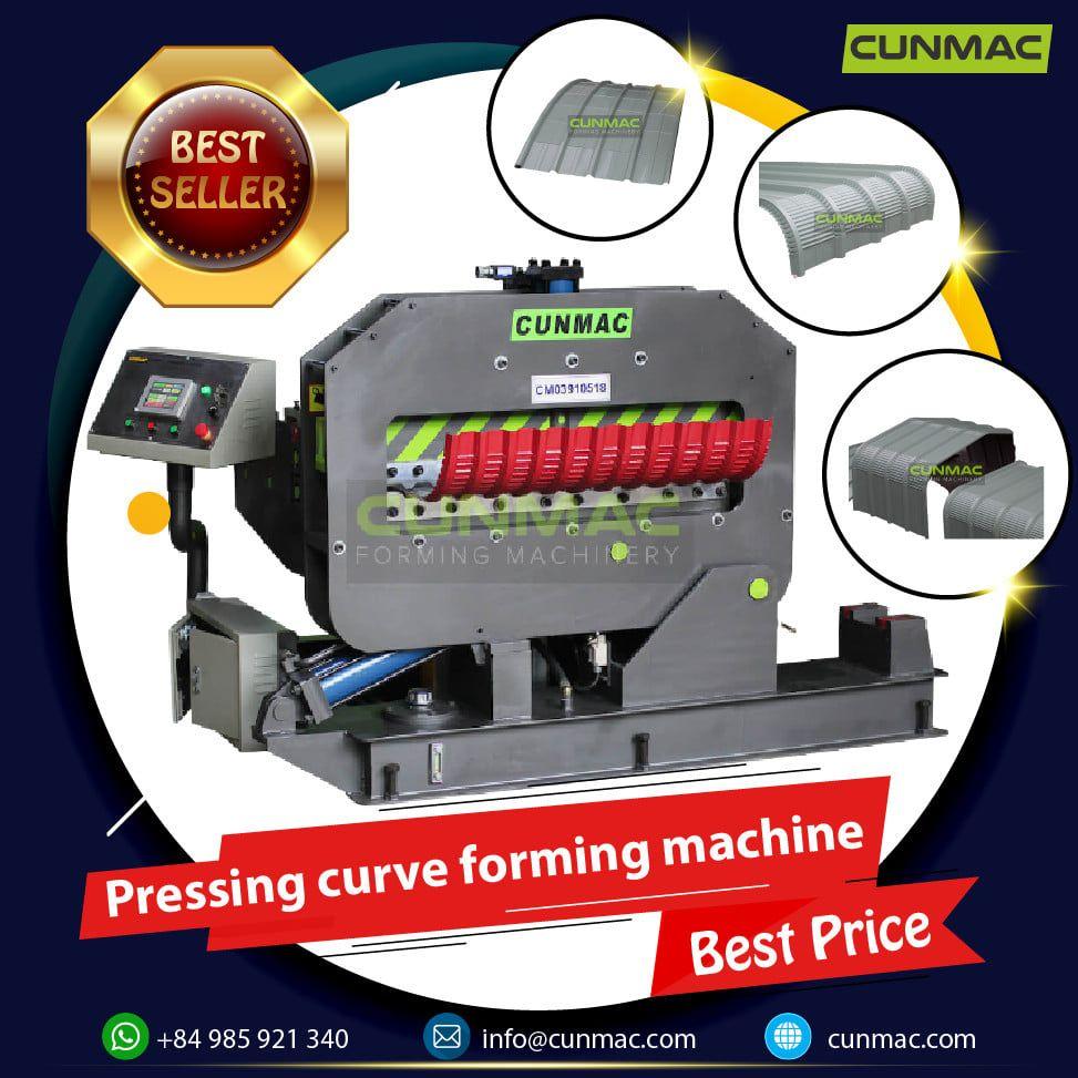 crimping curve machine