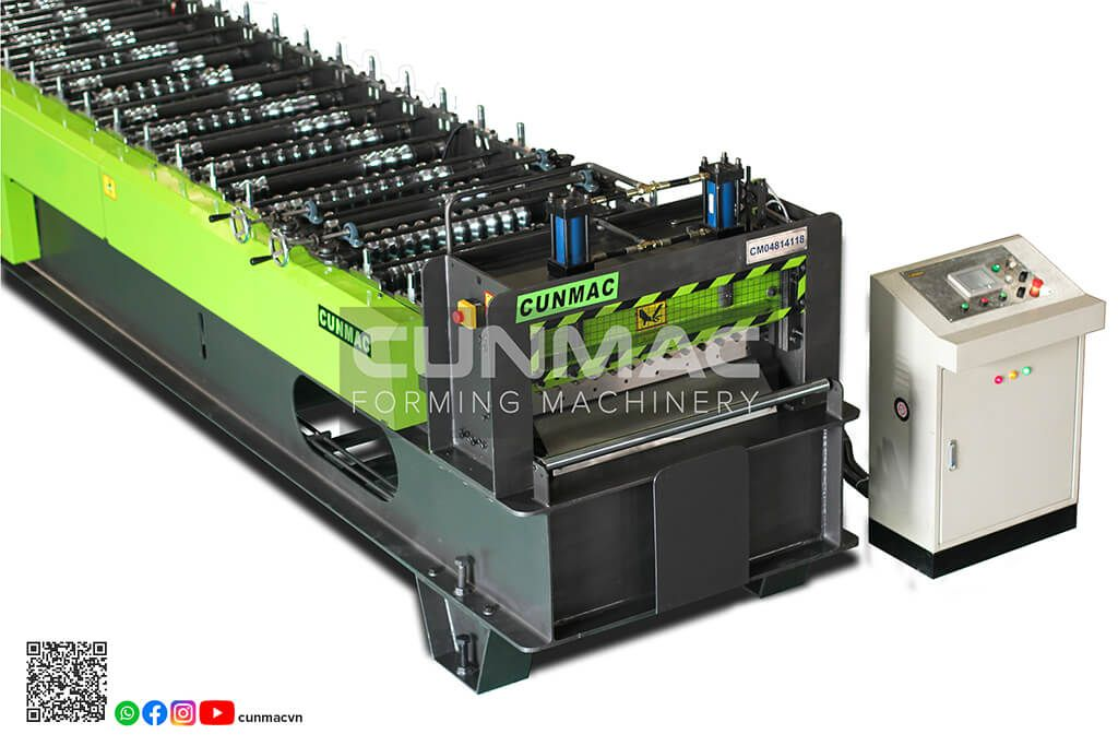 corrugated roofing machine manufacturer