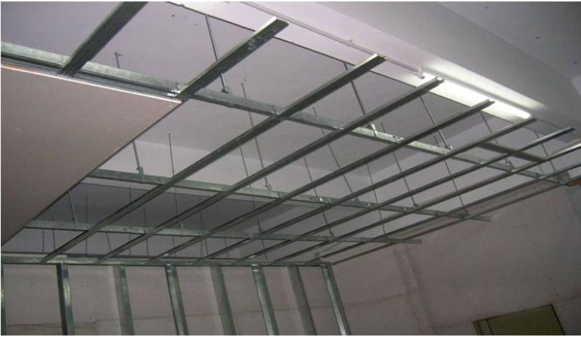 Metal drywall frame